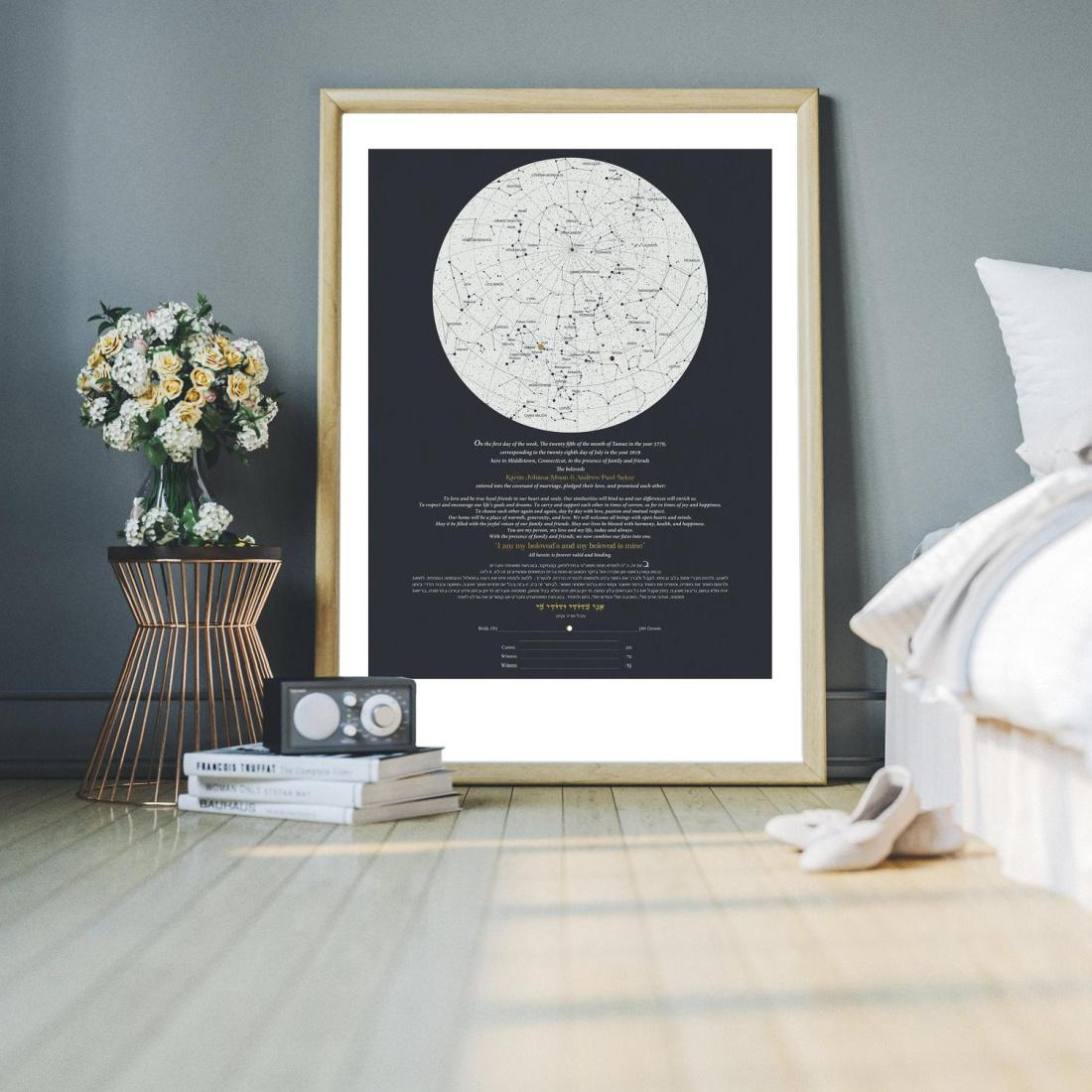 Written In The Stars Ketubah